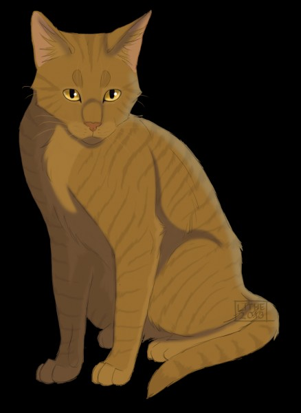 Poil de Fougère est, sans conteste, un des plus loyaux guerriers du Clan du Tonnerre ! Savez-vous qui a donné naissance à ce brave chat ? Et si vous pouvez donner le nom du père également, ce serait pas mal.