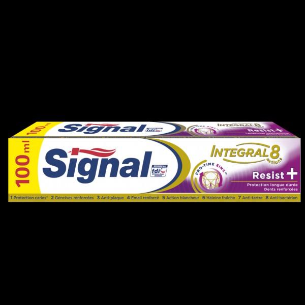 Quand a été inventé le dentifrice Signal ?