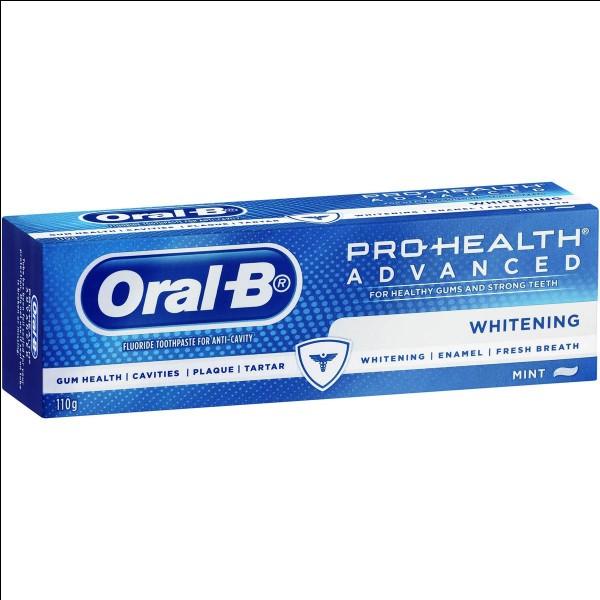 Oral B est aussi une marque de...