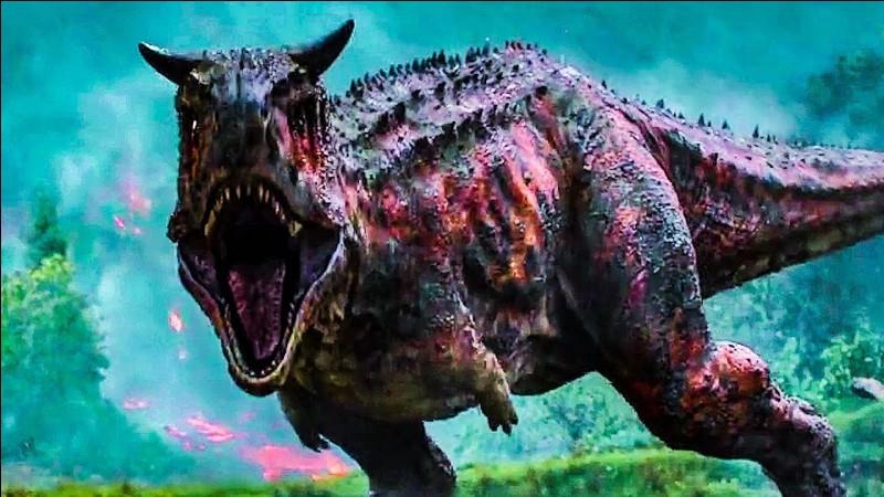 Qui met le Carnotaurus à terre ?