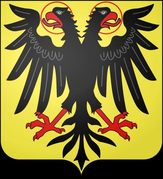 Blasons et drapeaux des anciens États du Moyen Âge