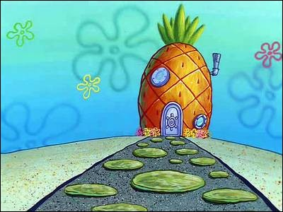 Il vit au fond des mers dans un ananas, quel est son prénom ?