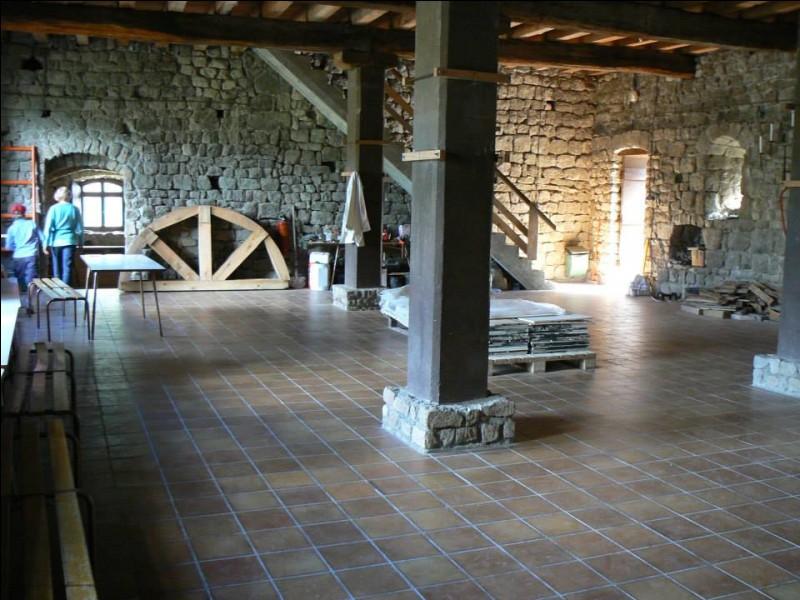 """La surface de la """"grande salle"""" du château est d'environ :"""