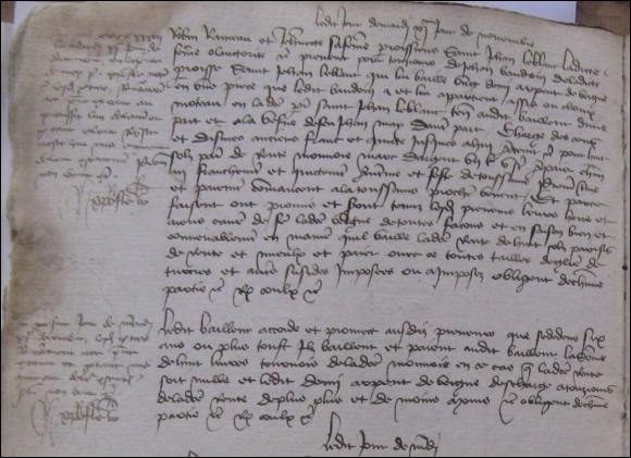 L'inventaire le plus complet qui a permis l'identification partielle des pièces du château date de...