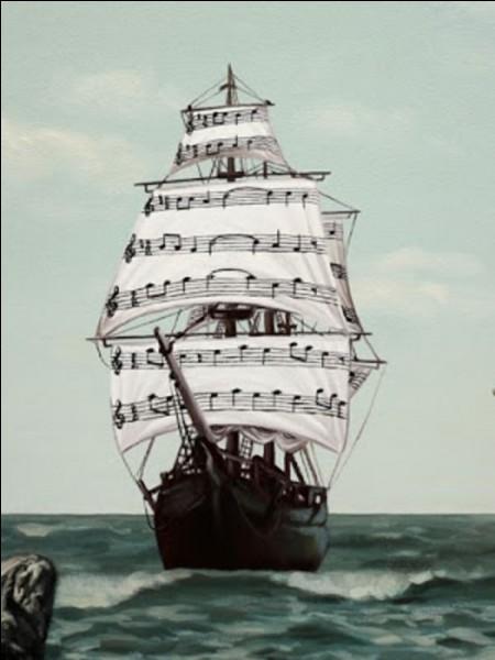 """Qui chantait """"Vers quel océan secret, le vent les a emportés"""" ?"""