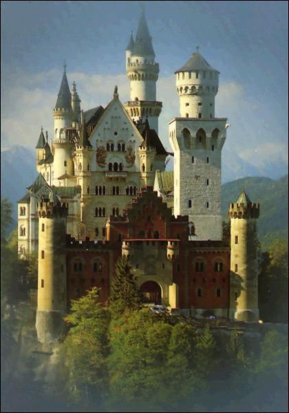 Digne d'un conte de fées le château Neuschwanstein (Allemagne) a été construit à la demande de Louis II de Bavière qui a été également le mécène de :