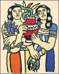 Associez le pays de Fernand Léger !