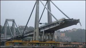 En Italie, le pont Morandi s'est effondré le 14 août 2018. Dans quelle ville se trouvait-il ?