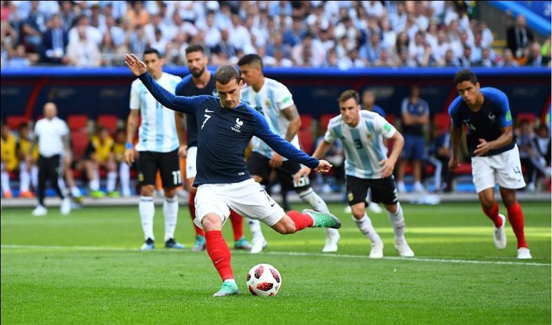 Pendant le match France-Argentine qui n'a pas marqué ?