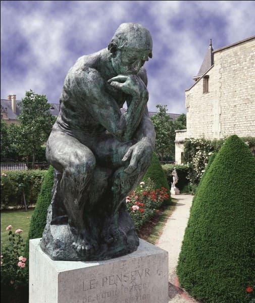 """À qui doit-on la sculpture du """"Penseur"""" ?"""