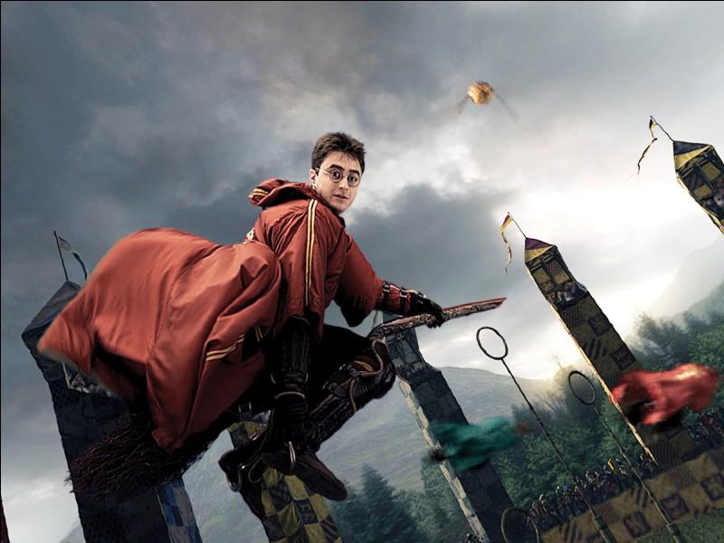 À quel poste joues-tu au quidditch ?