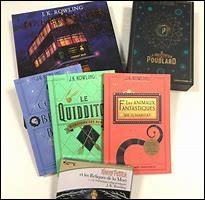 """Lequel de ces tomes de """"Harry Potter"""" aimes-tu le plus ?"""