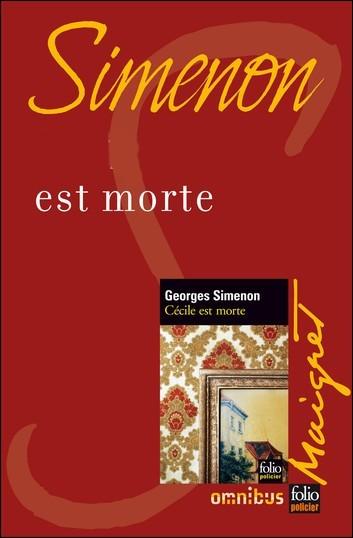 Qui est morte dans le titre d'un roman de Simenon ?