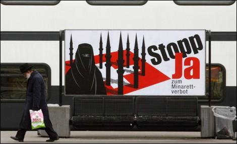 Comment l'interdiction de construire des minarets dans les mosquées suisses sera-t-elle justifiée dans la constitution?