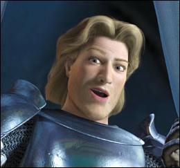 Qui entreprend le périlleux voyage pour sauver la princesse Fiona sans savoir qu'elle a déjà été sauvée par Shrek ( dans Shrek 2 ) ?