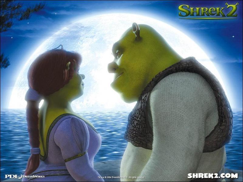 Que se passe t-il quand, lors du bal, Prince Charmant embrasse Fiona ?