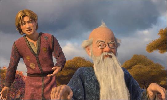 Dans Shrek le Troisième, à part Shrek, quel est l'autre héritier du trône ?
