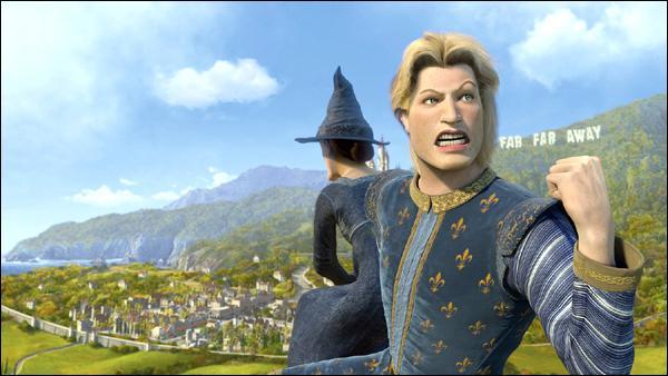 Quelle est la passion de Charmant dans Shrek le Troisième ?