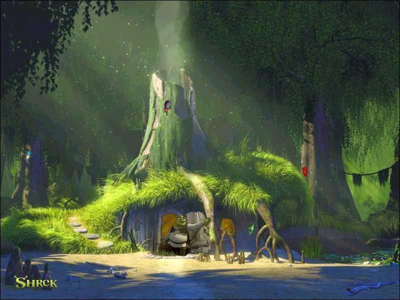 Dans quel milieu naturel l'ogre Shrek vit-il ?