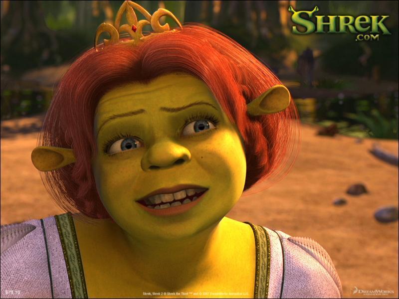 Dans quelle partie du château est enfermée Fiona dans Shrek ( le premier ) ?