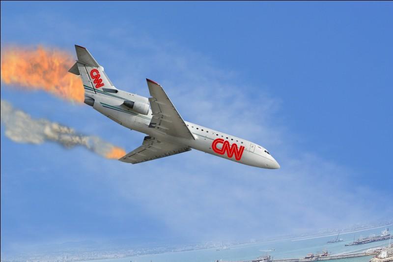 Oulala, ton avion rentre dans une zone de turbulence, à tout moment il peut s'écraser, que penses-tu ?