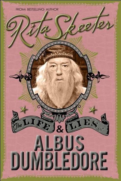 """Dans """"Harry Potter et les Reliques de la Mort"""" (partie 1), au mariage de Bill et Fleur, qui parle à Harry de la biographie de Dumbledore écrite par Rita Skeeter ?"""
