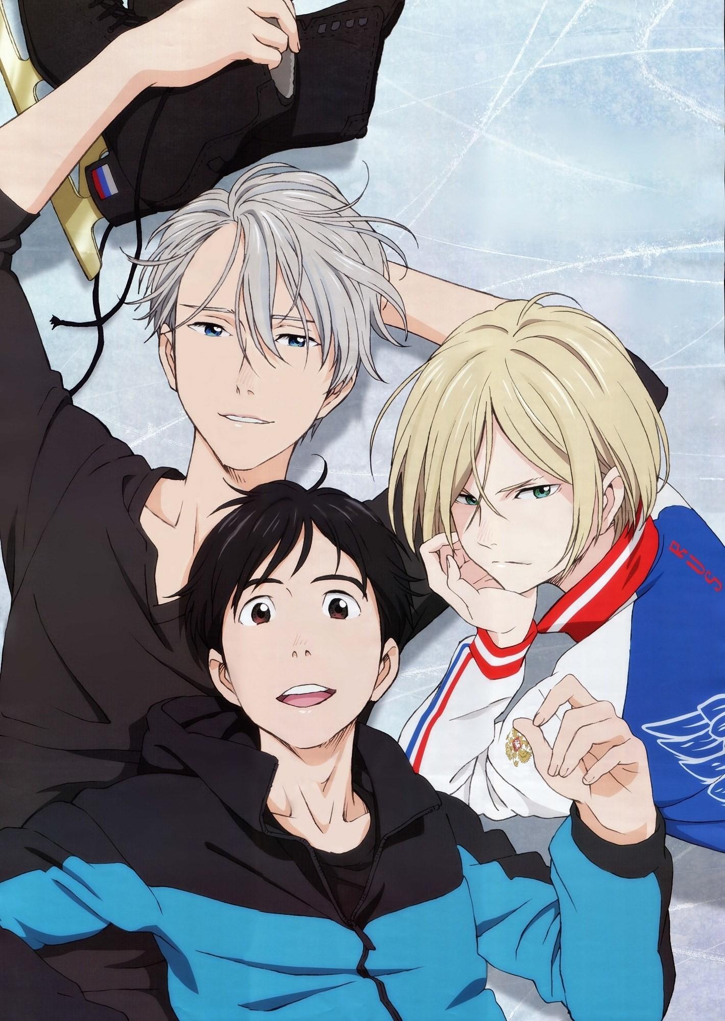 Qui est ton petit ami dans ''Yuri on Ice'' ?