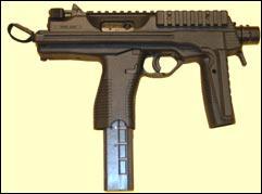 De quel pays provient ce Brugger Thomet MP9 (carabine-pistolet) ?