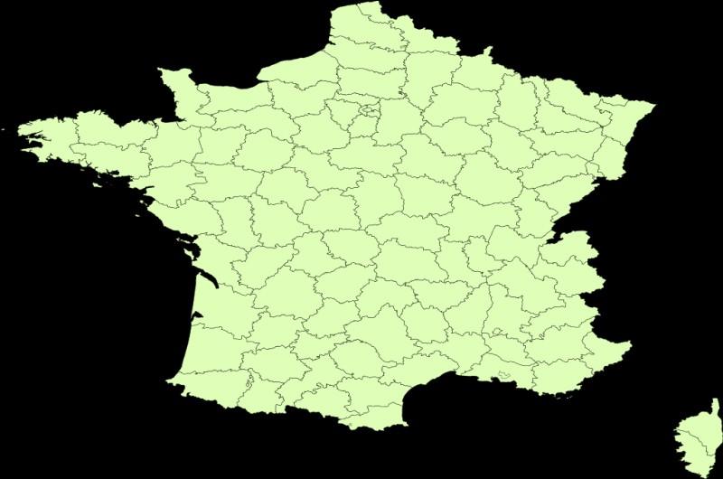 En France, il existe 101 départements.