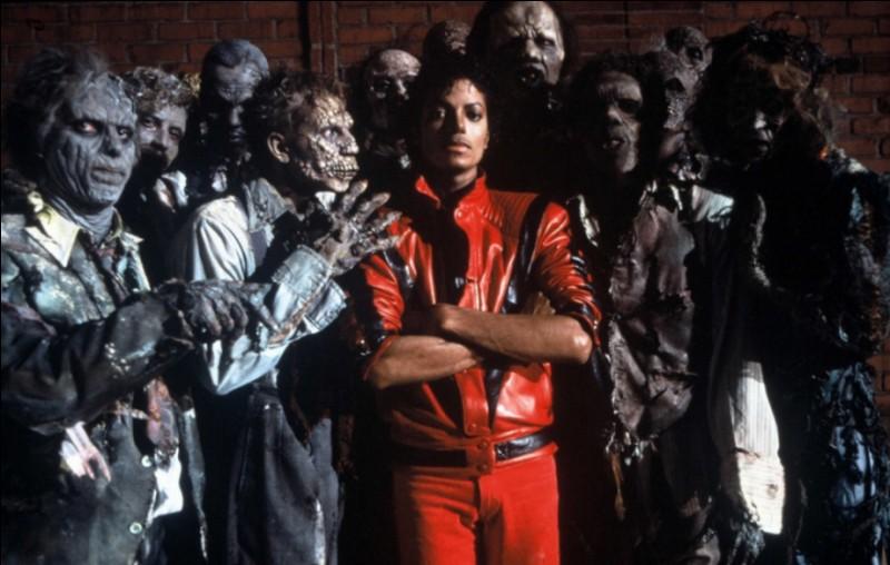 """Qui a chanté """"Thriller"""" ?"""