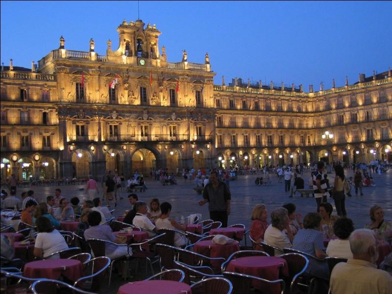 Cette ville espagnole, en Castille, célèbre pour sa vieille université, c'est :