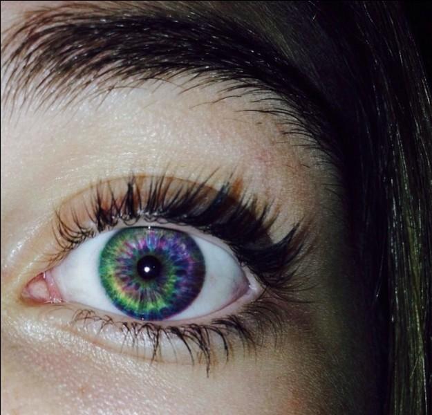Tu as les yeux :