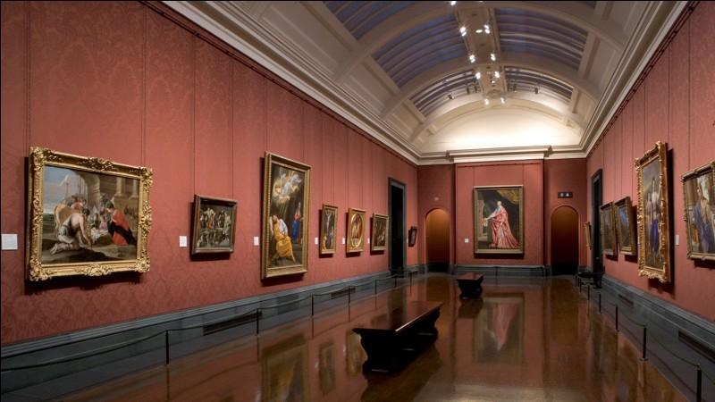 Que trouve-t-on dans la National Gallery ?
