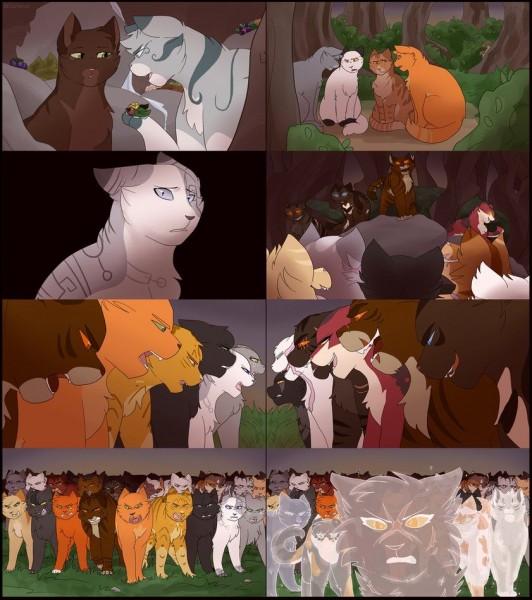 Comment s'appellent les petits de Coeur Cendré et Pelage de Lion ?