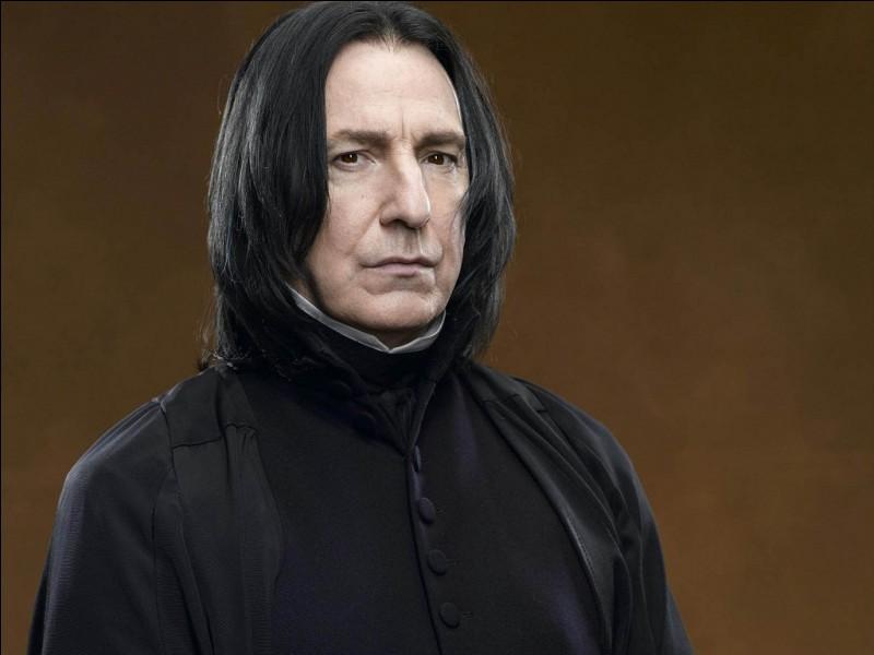 Que penses-tu de Severus Rogue ?