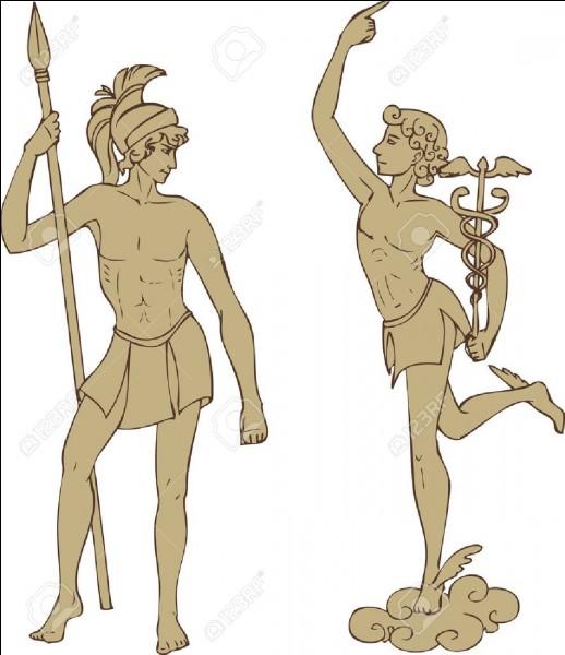 Hermès est le messager des dieux.