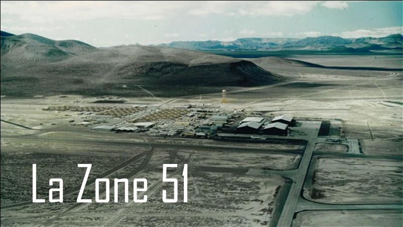 La zone 51 est une aire géographique du Nevada aux États-Unis.