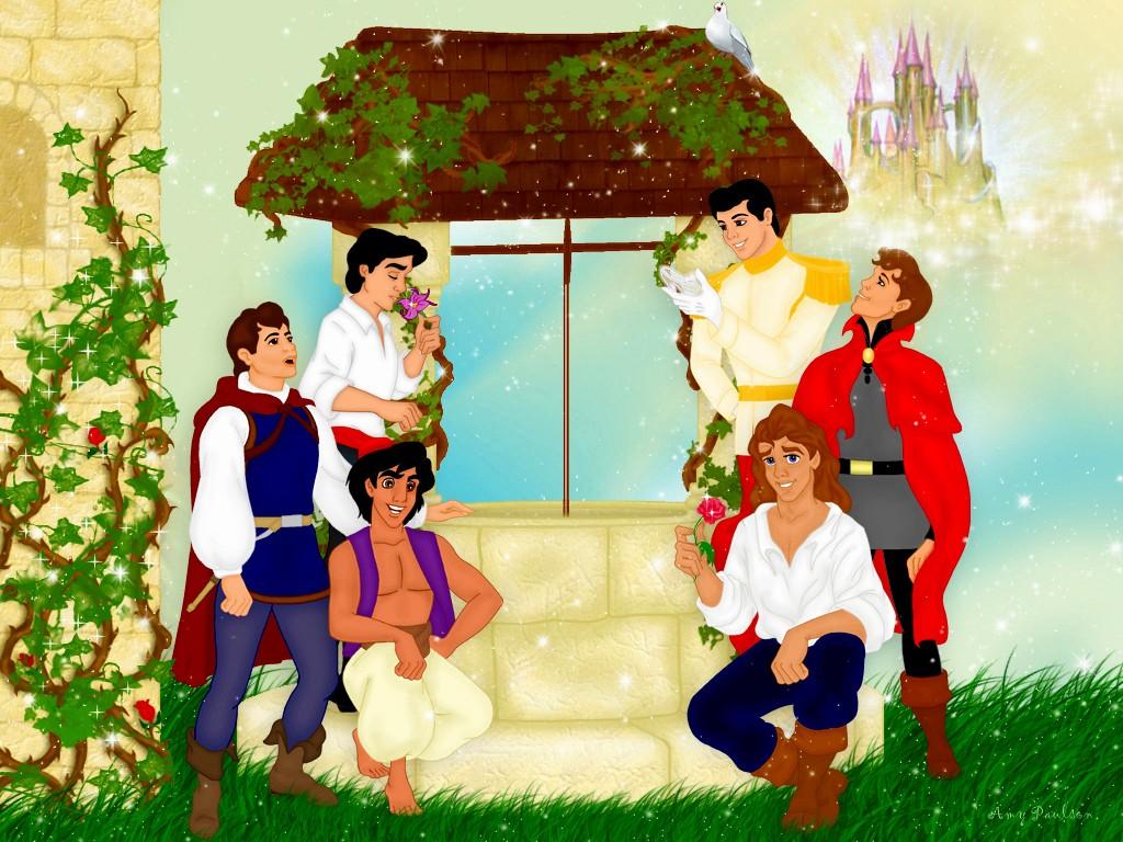 Qui sont ces princes Disney ?