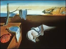 """Ce tableau de Salvador Dali s'appelle """"Persistance de la mémoire""""."""
