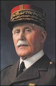 En quelle année est né Philippe Pétain ?