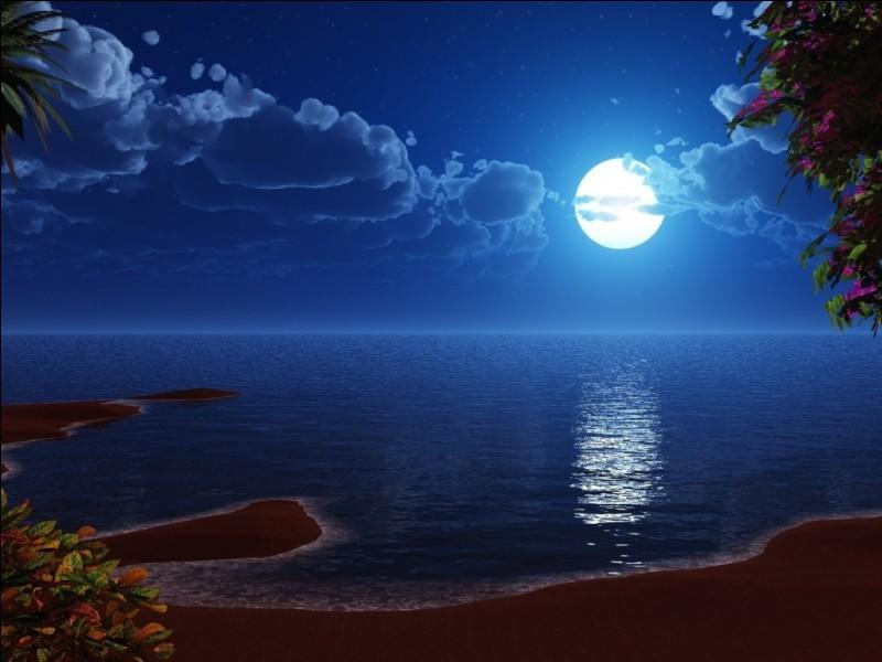Quel paysage préfères-tu la nuit ?