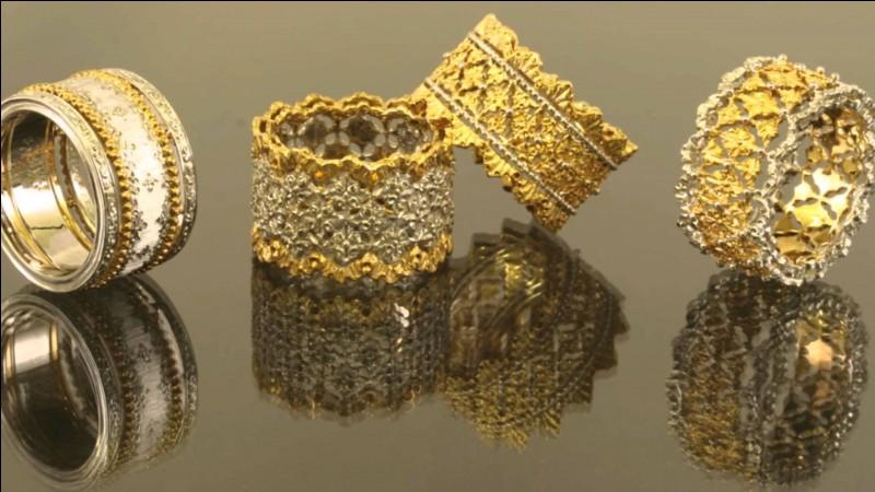 Quel est le poinçon utilisé pour de l'or 18 carats en France ?