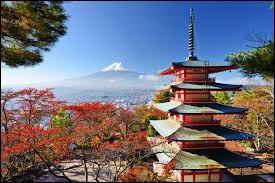 Quelle est la couleur du rond se trouvant au centre du drapeau du Japon ?
