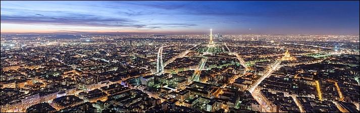 Je suis le plus haut gratte-ciel de Paris, d'une hauteur de 210 mètres et qui contient 59 étages. Je suis, sans nul doute...