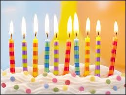 Pour toi, les anniversaires sont...