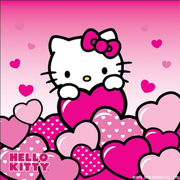 Hello Kitty est un chat :