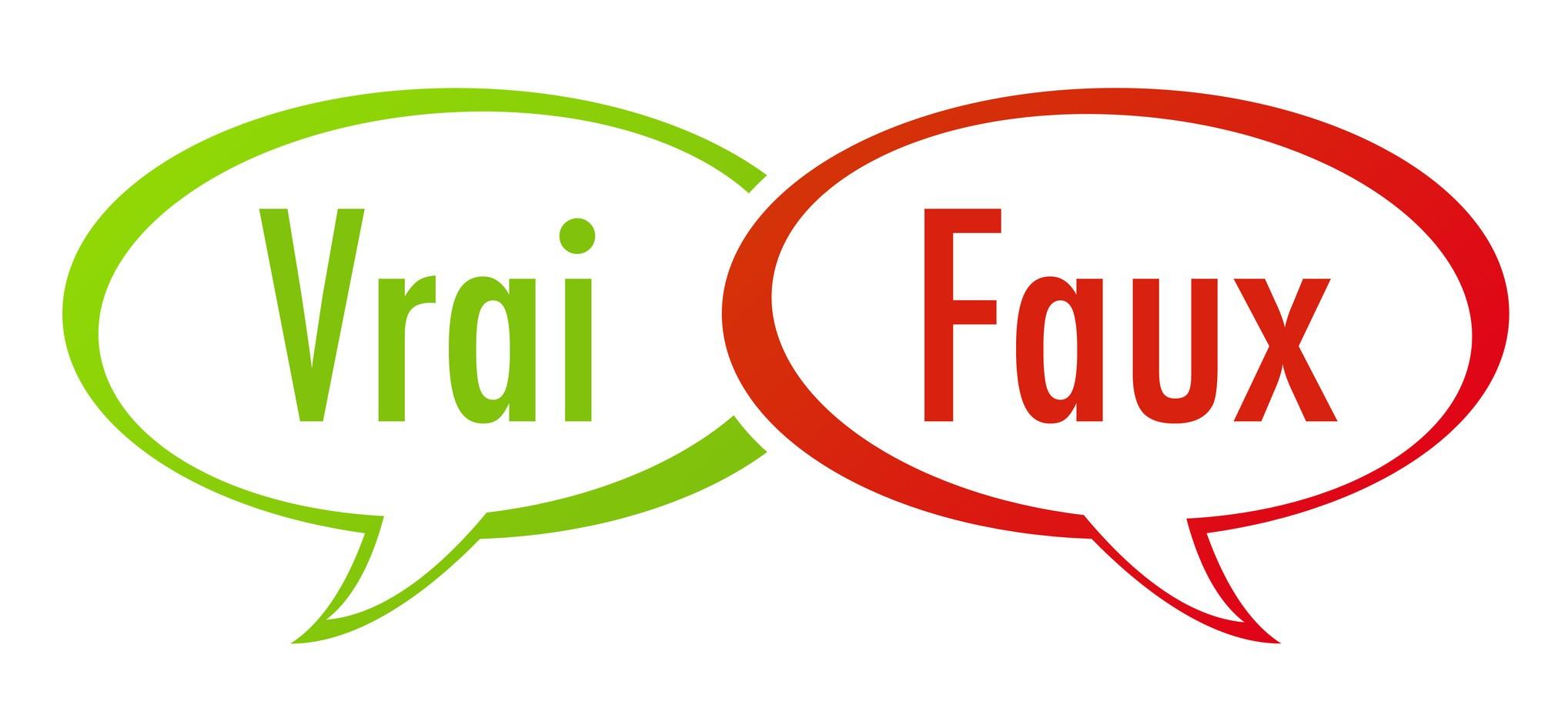 Vrai ou faux (2)