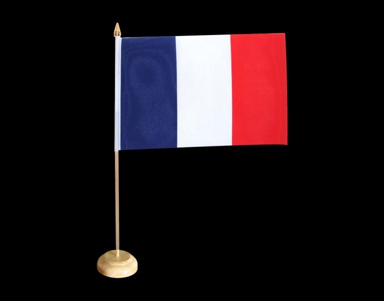 Tout bon royaume se doit d'avoir un drapeau, d'ailleurs sais-tu comment le drapeau se dit en anglais ?