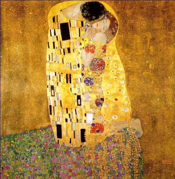 """""""Le Baiser"""" est de Gustav Klimt."""