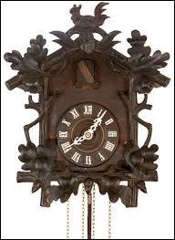 Quel pays est à l'origine de l'horloge à coucou ?